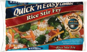 Westpac®  Quick 'n Easy Combos™ Rice Stir Fry 16 oz. Bag