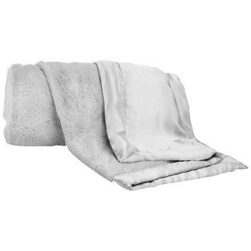 Cocalo Lux Fur Baby Blanket Color: Grey