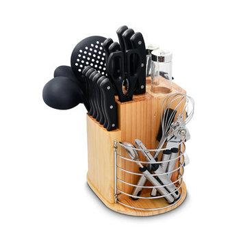 Ragalta 31 Piece Purelife Carousel Knife Set Color: Black