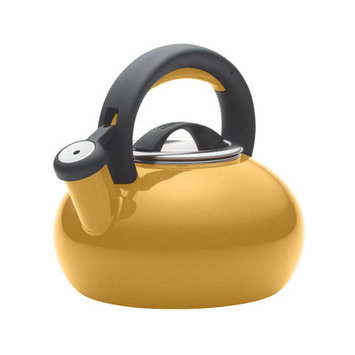 Circulon 1-1/2-Quart Sunrise Teakettle, Mustard Yellow