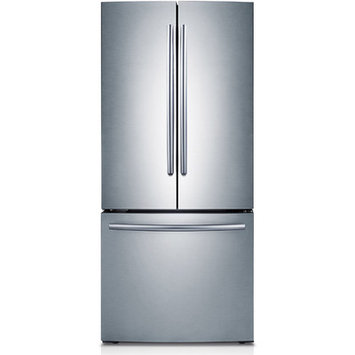 Samsung - 216 Cu Ft French-Door Refrigerator - Stainless-Steel