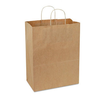 Bagco Handled Shopping Bags in Natural