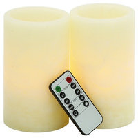 Beachcrest Home Vanilla Flameless Candle