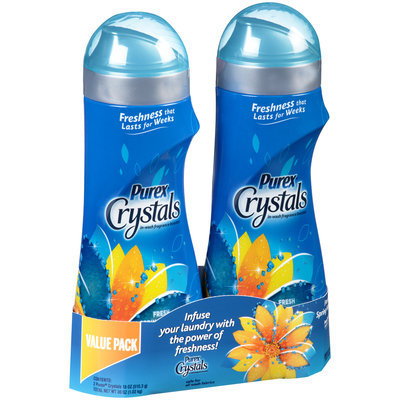 Purex® Crystals Fresh Spring Waters® In-Wash Fragrance Booster 2-18 oz. Bottles