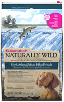 Eukanuba Naturally Wild North Atlantic Salmon & Rice Formula Dog Food 4 lb. Bag