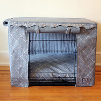 Bowhausnyc Crate Cover Size: Large (27