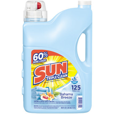 Sun® Triple Clean Bahama Breeze Laundry Detergent 188 fl. oz. Jug