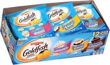 Goldfish® Grahams Vanilla Cupcake S'mores Fudge Brownie Baked Graham Snacks Variety Pack