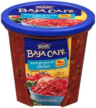 Reser's Fine Foods® Baja Cafe® Pico De Gallo Salsa Medium 24 oz. Tub
