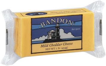 Bandon Mild Cheddar Cheese 1 Lb Chunk