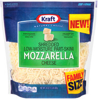Kraft Shredded Mozzarella Cheese 24 oz. ZIP-PAK®