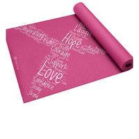 Gaiam America GAIAM Pink Ribbon II Printed Yoga Mat