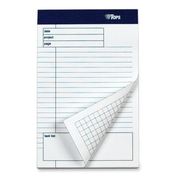 Tops Planning pad with Ruled Task List
