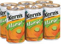 Kern's Mango 5.5 Oz Nectar 6 Pk Cans