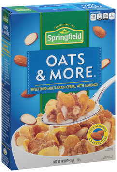Springfield® Oats & More® Cereal 14.5 oz. Box