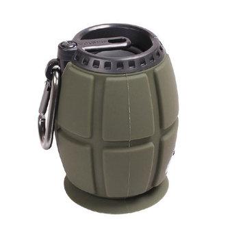 Sintechno Inc 3-in-1 Portable Grenade Shape MP3 Bluetooth Speaker, Speakerphone and Recorder