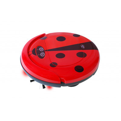 Techko Maid - Super Maid Robotic Vacuum - Red