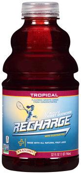 R.W. Knudsen® Recharge® Tropical Flavored Sports Drink 32 fl. oz. Bottle