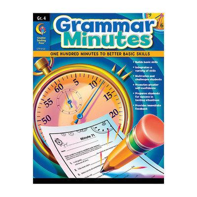 Creative Teaching Press CTP6122 Grammar Minutes Gr 4