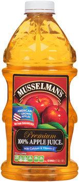 Musselman's® Premium 100% Apple Juice with Calcium & Vitamin C 64 fl. oz. Bottle