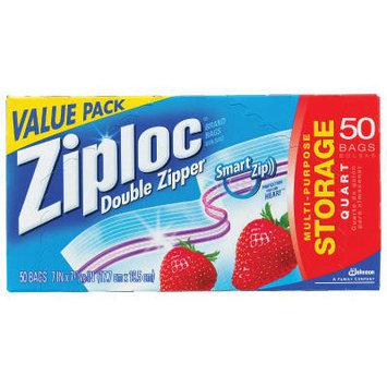 Ziploc Double Zipper Food Bags in Clear