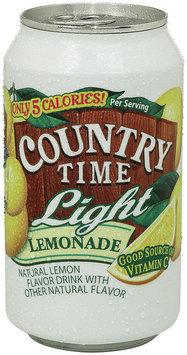 Country Time Light Lemonade 12 Oz Can