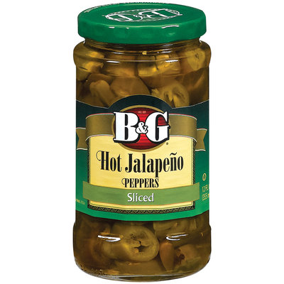 B&G Jalapeno Hot Slices Peppers 12 Oz Jar