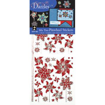 Dazzles Pinwheel Stickers
