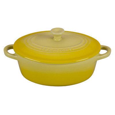 Le Creuset Stoneware 12 oz. Petite Oval Casserole Color: Soleil