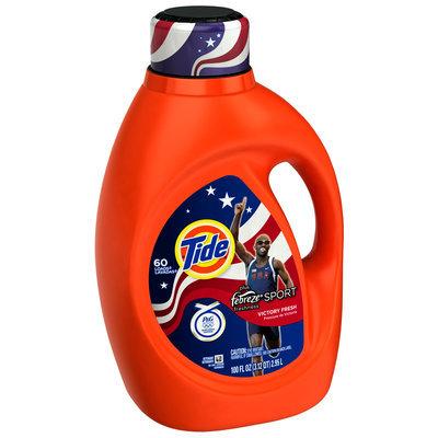 Tide Plus Febreze Freshness™ Sport Victory Fresh Scent Liquid Laundry Detergent
