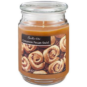Candle lite 3.5 Oz Cinnamon Pecan Scented Jar Candle