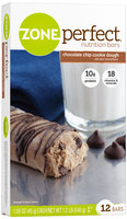 ZonePerfect® Chocolate Chip Cookie Dough Nutrition Bars 1.2 lb. Box
