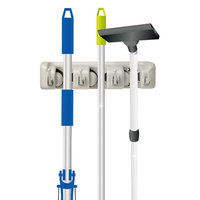 Home It Three-Position Mop & Broom Holder