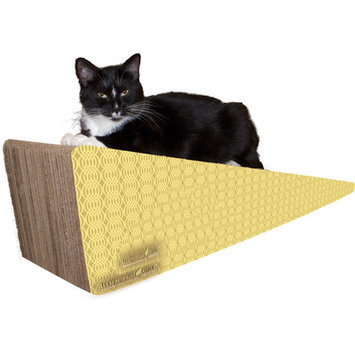 Imperial Cat Scratch 'n Shapes Wedge Recycled paper Scratching Board