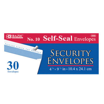 Bazic 5068-24 No. 10 Peel and Seal Security Envelope4