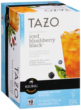 Tazo® Sweetened Iced Blushberry Black™ Tea K-Cup® 10 ct Box
