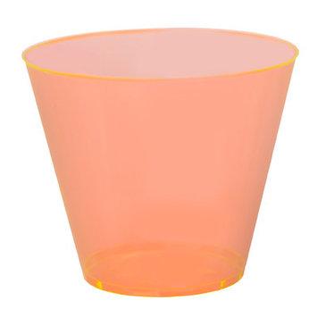 Fineline Settings, Inc Savvi Serve 9 oz. Old-Fashioned Tumbler (500 Pack) Finish: Orange