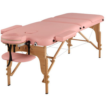 Sierracomfort Relax Portable Massage Table Color: Pink