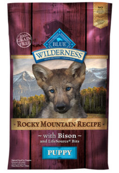 THE BLUE BUFFALO CO. BLUE™ Wilderness® Rocky Mountain Recipe™ Bison For Puppies