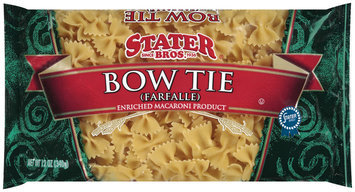 Stater Bros. Bow Tie Farfalle Enriched Macaroni Product 12 Oz Bag
