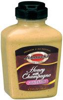 Schnucks Honey W/Champagne Select Mustard 8.25 Fl Oz Squeeze Bottle