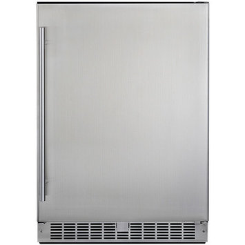 Silhouette - Professional 5.5 Cu. Ft. Compact Refrigerator - Stainless-steel