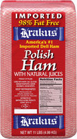 Krajus Polish Ham with Natural Juices
