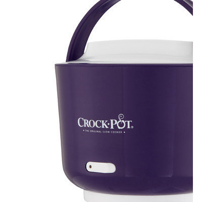 Crock-pot Lunch Crock 24-Ounce Electric Food Warmer Finish: Purple