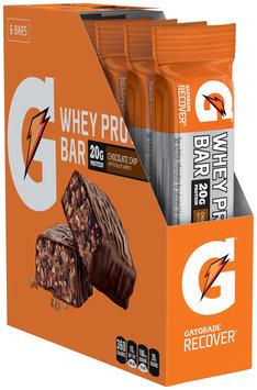 G® Gatorade Recover® Chocolate Chip Whey Protein Bar 6 ct Box