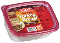 Stater Bros.® Deli Style Peppered Turkey Breast 9 oz.