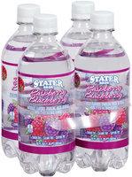 Stater Bros.® Flavored Sparkling Water Raspberry Blackberry 4-20 fl. oz. bottles