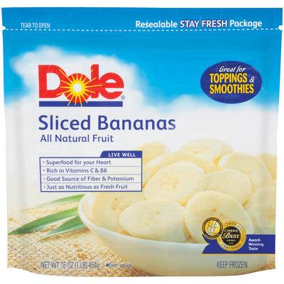 Dole Sliced Bananas All Natural Fruit