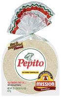 Pepito Corn 24 Ct Tortillas 22.5 Oz Bag