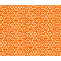 Stwd Primary Bubbles Woven Portable Mini Fitted Crib Sheet Color: Orange